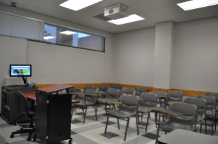 A typical classroom for 24 students.